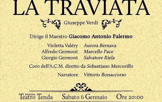 """""""La traviata"""", un'opera indimenticabile a Ragusa"""